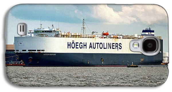 Galaxy S4 Case featuring the photograph Hoegh Autoliners Heogh Maputo 9431850 At Curtis Bay by Bill Swartwout Fine Art Photography