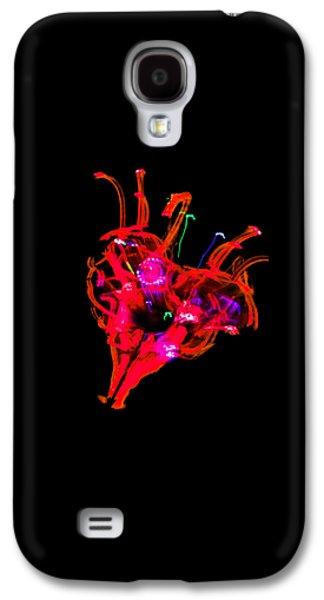 Hole In My Heart Galaxy S4 Case by Az Jackson