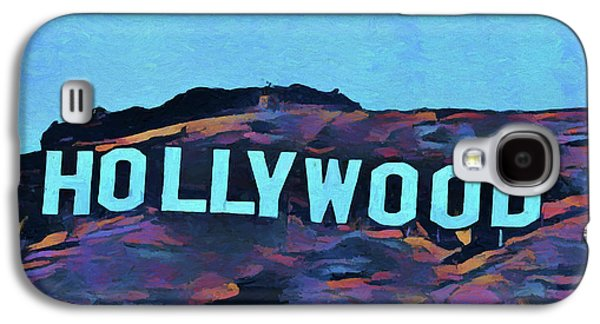 Hollywood Pop Art Sign Galaxy S4 Case