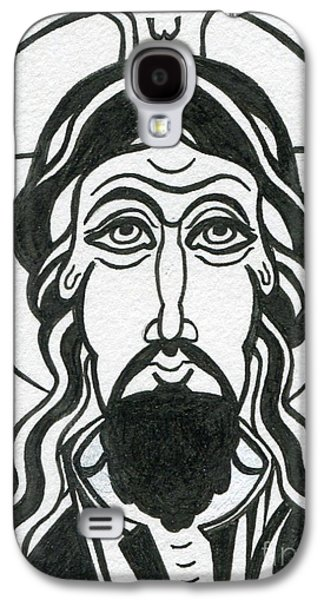Holy Face Of Jesus Galaxy S4 Case by Danielle Tayabas