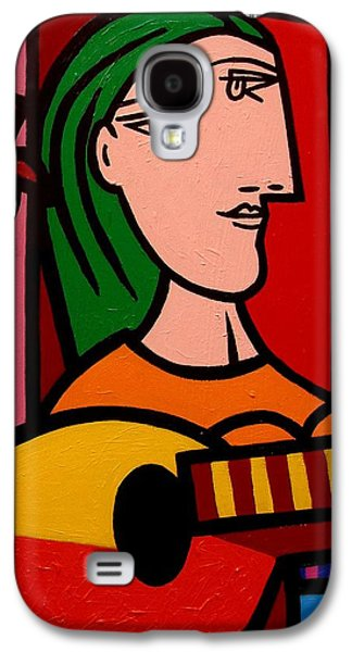 Homage To Picasso Galaxy S4 Case