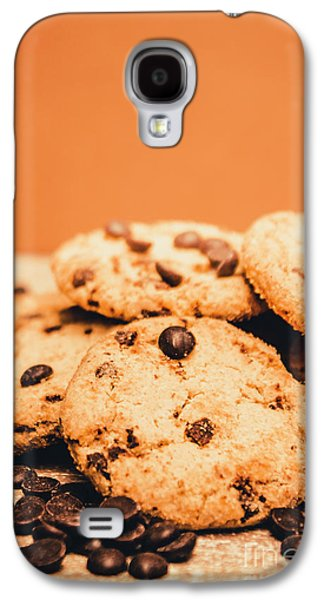 Home Baked Chocolate Biscuits Galaxy S4 Case by Jorgo Photography - Wall Art Gallery