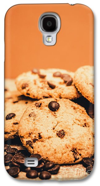 Home Baked Chocolate Biscuits Galaxy S4 Case