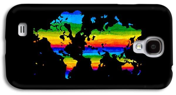 Home In Black Galaxy S4 Case by Sarah Krafft