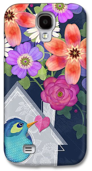 Home Is Where You Bloom Galaxy S4 Case