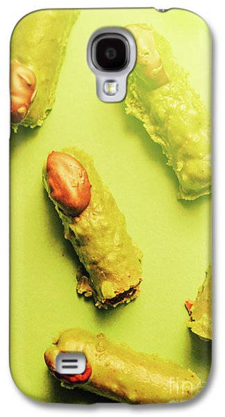 Home Made Severed Finger Halloween Candies Galaxy S4 Case by Jorgo Photography - Wall Art Gallery