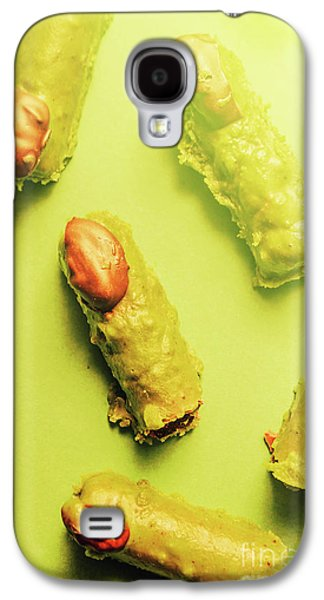 Home Made Severed Finger Halloween Candies Galaxy S4 Case