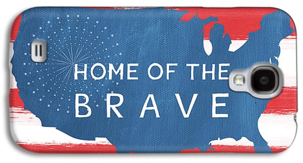 Home Of The Brave Galaxy S4 Case by Linda Woods