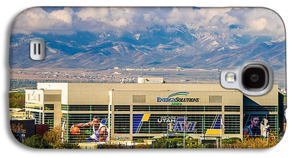 Home Of The Utah Jazz Galaxy S4 Case by TL  Mair