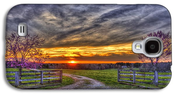 Home Sweet Home Lick Skillet Road Sunset Galaxy S4 Case