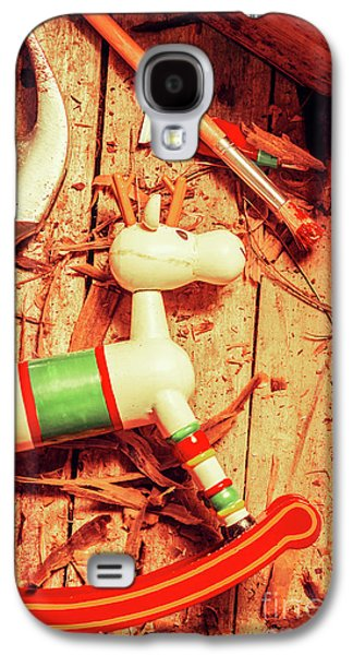 Homemade Christmas Toy Galaxy S4 Case by Jorgo Photography - Wall Art Gallery
