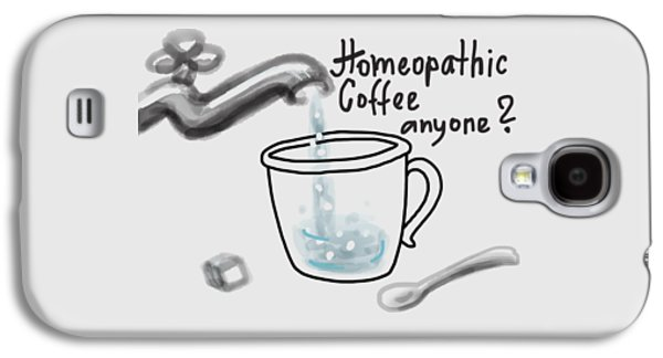 Homeopathic Coffee Galaxy S4 Case