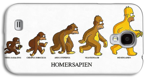 Homersapiens Galaxy S4 Case by Vadim Pavlov