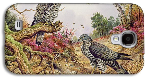 Honey Buzzards Galaxy S4 Case by Carl Donner