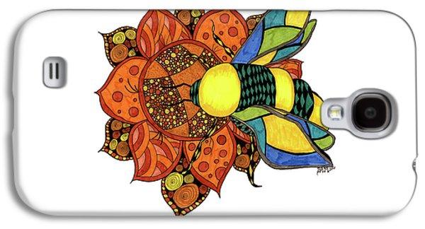 Honeybee On A Flower Galaxy S4 Case