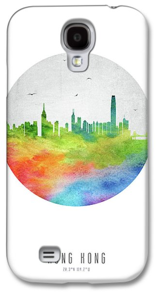 Hong Kong Galaxy S4 Case - Hong Kong Skyline Chhk20 by Aged Pixel