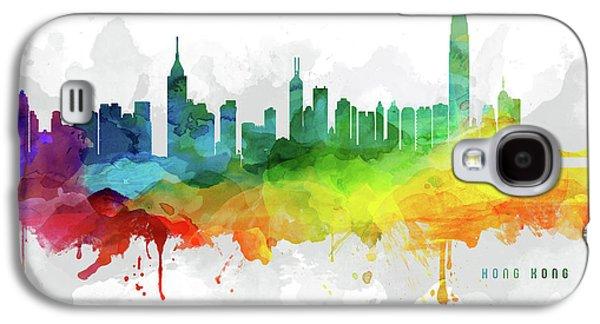 Hong Kong Galaxy S4 Case - Hong Kong Skyline Mmr-chhk05 by Aged Pixel