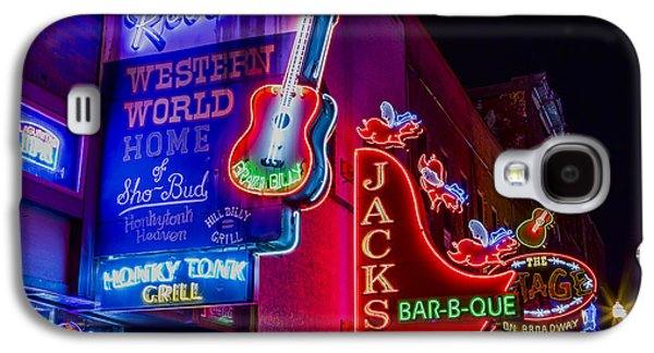 Honky Tonk Broadway Galaxy S4 Case by Stephen Stookey
