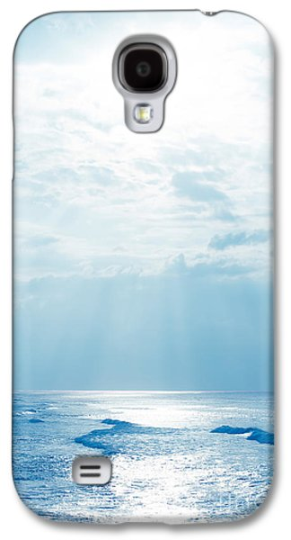 Hookipa Beach Blue Sensation Galaxy S4 Case by Sharon Mau