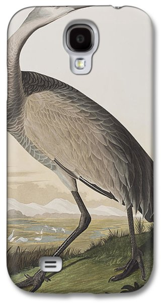 Hooping Crane Galaxy S4 Case by John James Audubon