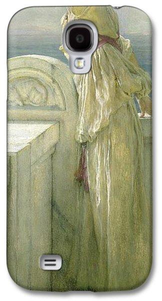 Hopeful Galaxy S4 Case by Sir Lawrence Alma-Tadema