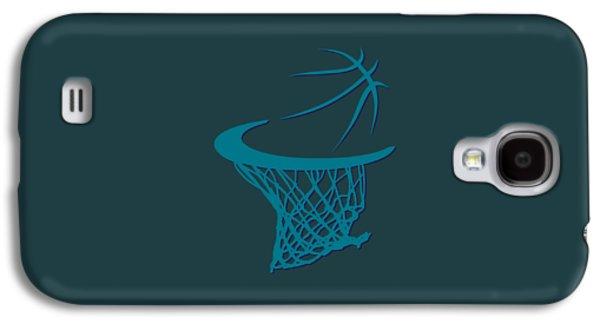 Hornets Basketball Hoop Galaxy S4 Case
