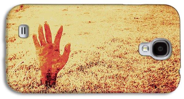 Horror Hand Of A Zombie Awakening Galaxy S4 Case