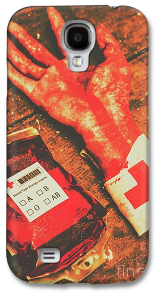 Horror Hospital Scenes Galaxy S4 Case