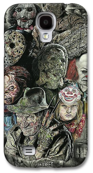 Horror Movie Murderers Galaxy S4 Case