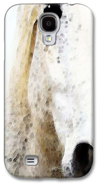 Horse Art - Waiting For You  Galaxy S4 Case by Sharon Cummings