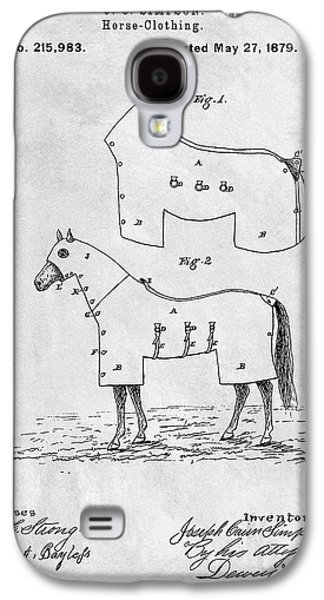 Horse Coat Patent Galaxy S4 Case
