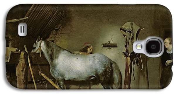 Horse In A Stable Galaxy S4 Case