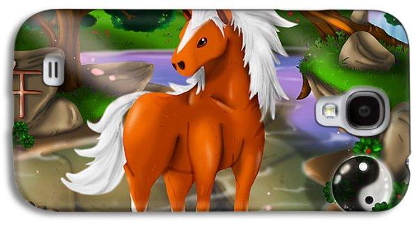 Horse In Chinese Zodiac Galaxy S4 Case