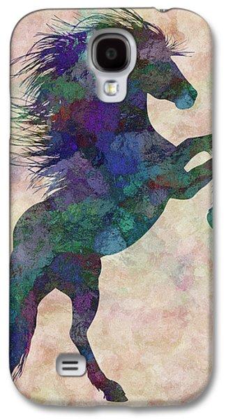 Horse Galaxy S4 Case by Jack Zulli