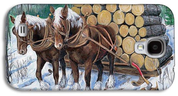 Horse Log Team Galaxy S4 Case