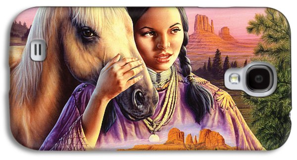 Horse Maiden Galaxy S4 Case by Andrew Farley
