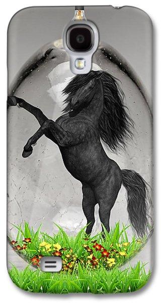 Horse Power Art Galaxy S4 Case