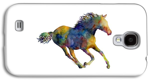 Horse Running Galaxy S4 Case by Hailey E Herrera