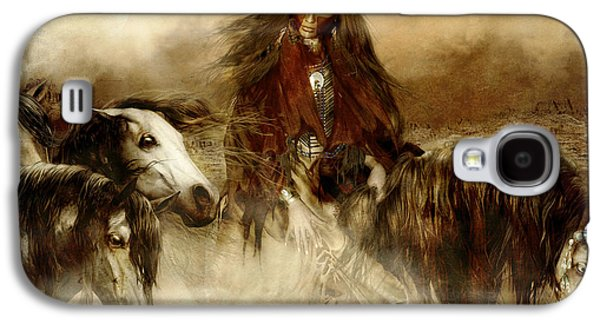 Horse Spirit Guides Galaxy S4 Case by Shanina Conway