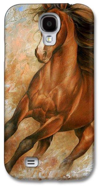 Wildlife Galaxy S4 Case - Horse1 by Arthur Braginsky