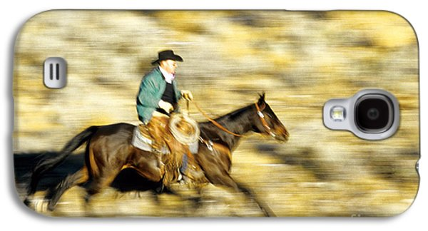 Horseback Rider Galaxy S4 Case