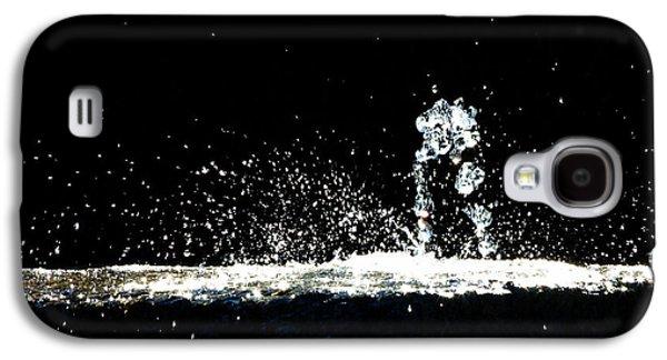 Horses And Men In Rain Galaxy S4 Case by Bob Orsillo