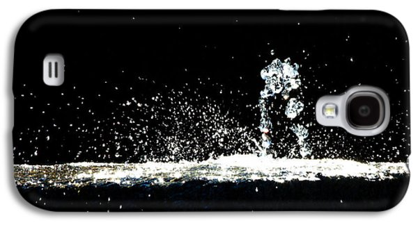 Horses And Men In Rain Galaxy S4 Case by Bob Orsillo