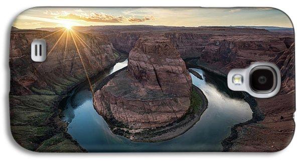Desert Sunset Galaxy S4 Case - Horseshoe Bend Sunset by James Udall
