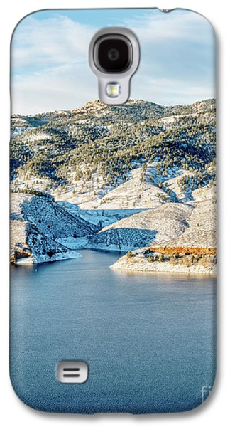 Horsetooth Reservoir And Rock Galaxy S4 Case by Marek Uliasz