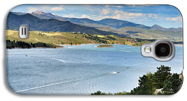 Horsetooth Reservoir Galaxy S4 Case by Paulina Roybal