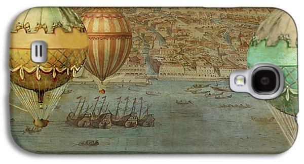 Hot Air Baloons Over Venus Galaxy S4 Case by Jeff Burgess