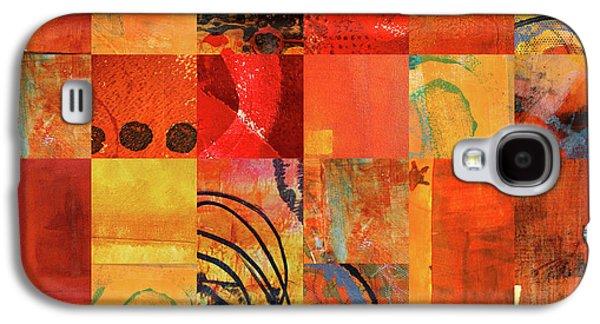 Hot Color Play Galaxy S4 Case by Nancy Merkle