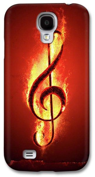 Hot Music Galaxy S4 Case by Johan Swanepoel
