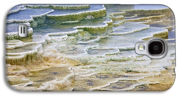 Galaxy S4 Case featuring the photograph Hot Springs Runoff by Gary Lengyel
